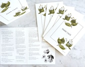 Menu Design for Park Cafe & Coffee Bar - extra illustrated collateral and social media images