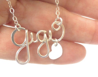 Personalized Name Necklace Silver, Personalized Gifts, Name Necklace- Name Jewelry, Word Necklace, Custom Jewelry, Dainty Nameplate Necklace