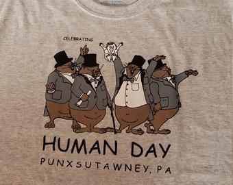 Souvenir Groundhog Brim Hat////Groundhog Day////Punxsutawney Pa////February 2