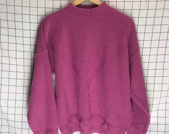 185c399524a Made in USA Mockneck Knit Sweater