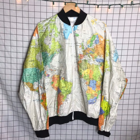Rare Vintage TYVEK Wearin' the World Front & Back