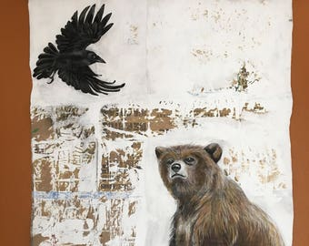 Raven and Bear