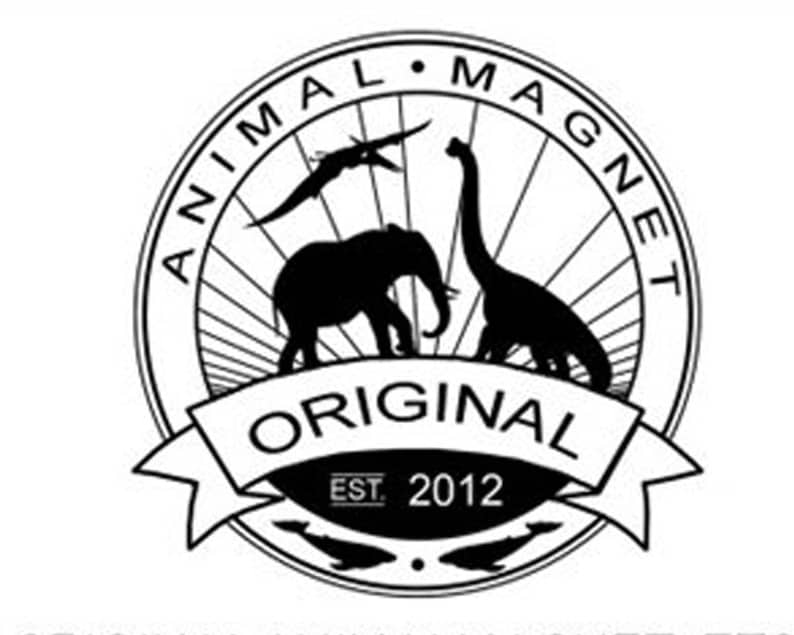 Wedding Place Card Holders 100 Animal Magnets Custom Set