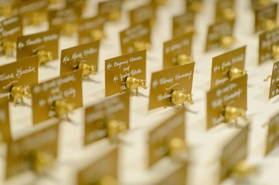 Platzkarten Tischkarten Hochzeitskarten Gold Glitter Etsy