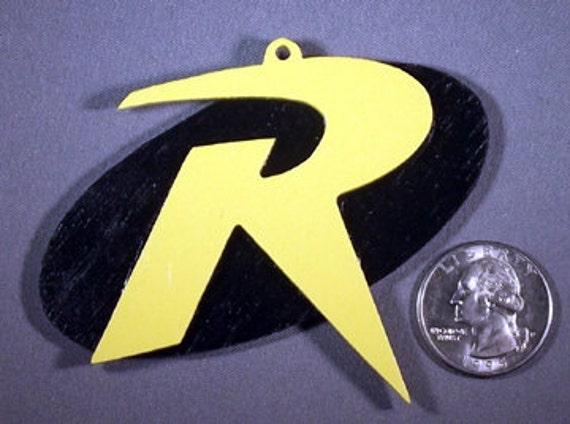 Dc Comics Robin Symbol Ornament Etsy