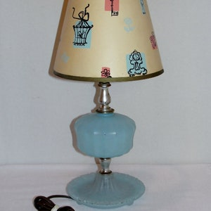 Pottery Vase Table Lamp in soft Clay