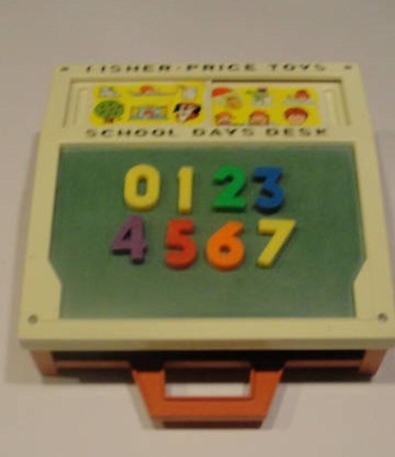 Vintage toy magnetic board