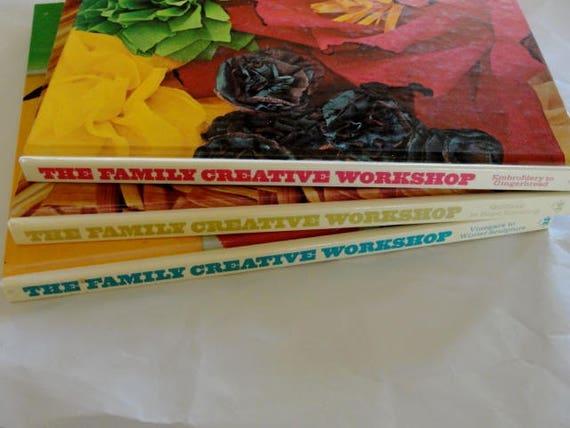 The family creative workshop book set of 3 books wine making etsy the family creative workshop book set of 3 books wine making paper flowers macrame etc mightylinksfo