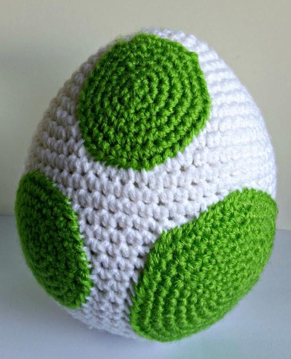 Yoshi Egg Amigurumi Crochet Pattern Pdf Yoshis New Etsy