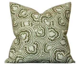 Tilton Fenwick Jax Pillow Cover in Green