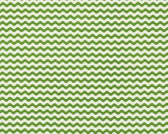 Schumacher Studio Bon Ric Rac Outdoor Pillow Cover in Green