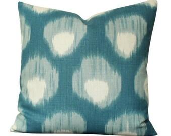 Peter Dunham Bukhara Pillow Cover in Blue