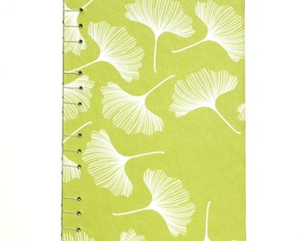 Ginkgo Leaf Journal with Lined Paper