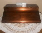 Hand Built Patina Copper Range Hood