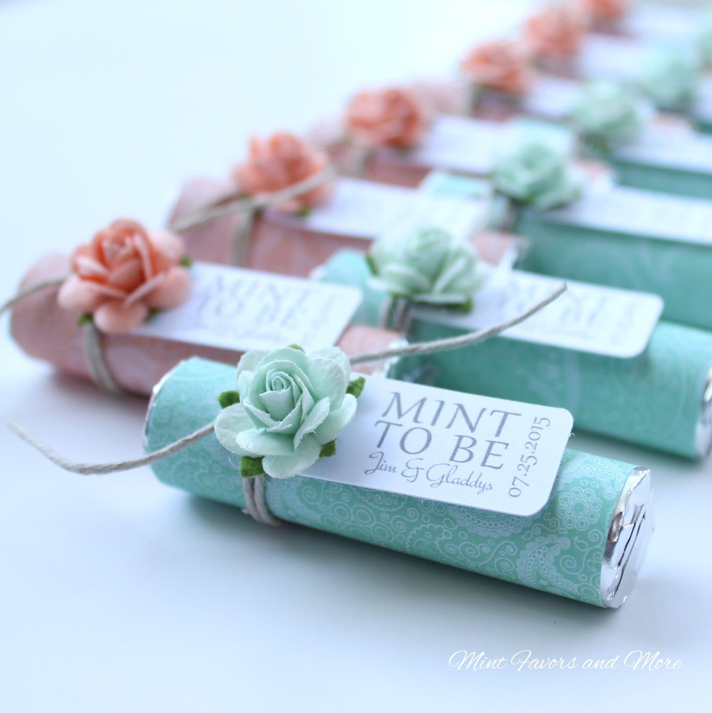 Wedding Gifts List Ideas: Mint Wedding Favors Set Of 200 Mint Rolls Mint To