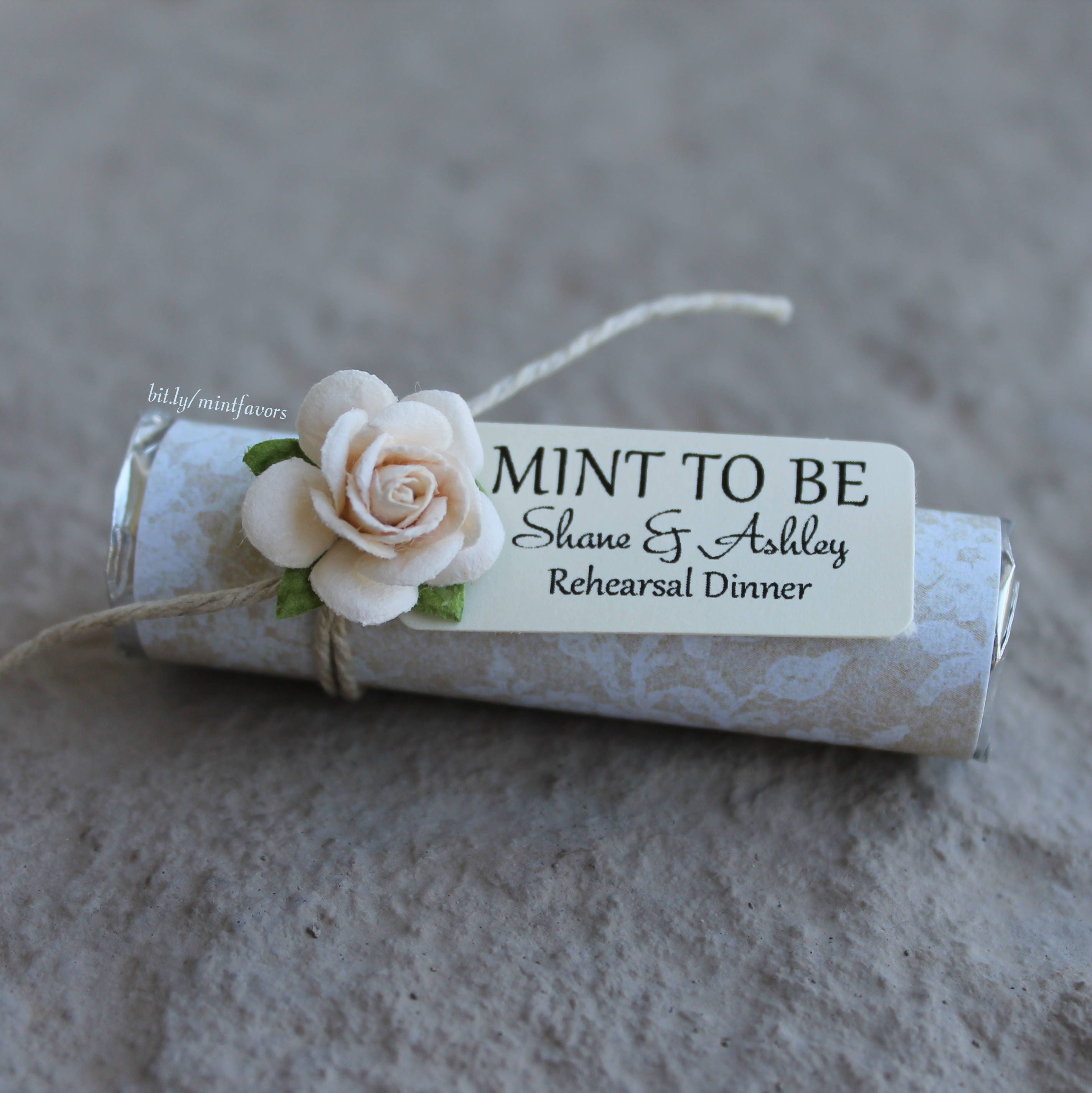 Unique Wedding Favors Mint To Be Favors With Personalized Etsy
