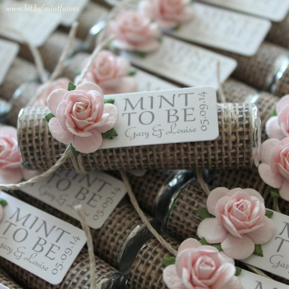 Mint To Be Wedding Favors | Mint Wedding Favors Set Of 40 Mint Rolls Mint To Etsy