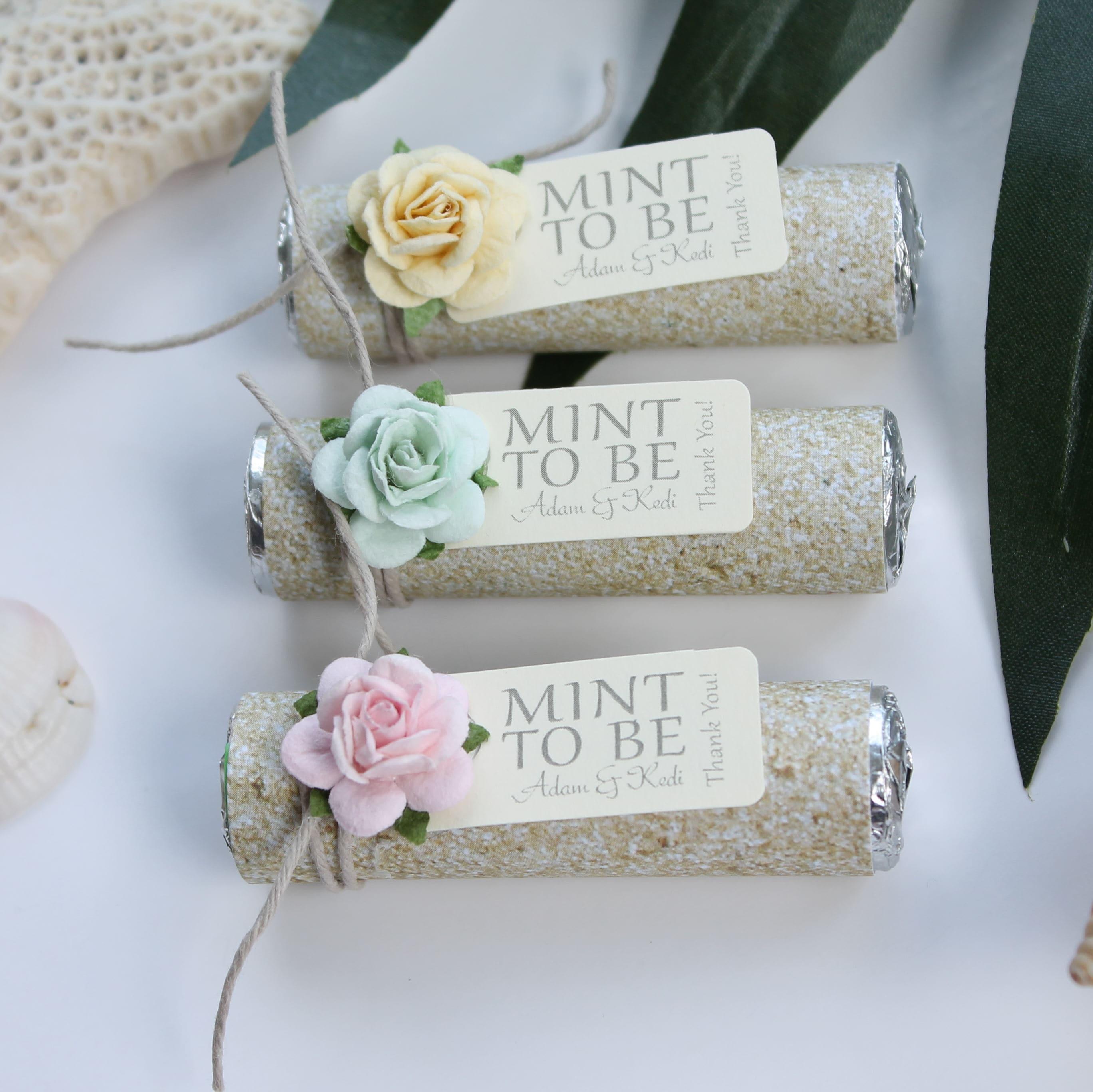 Beach Wedding Favors: Destination Wedding Favors Beach Wedding Mint To Be