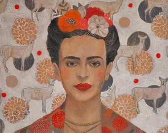 Homage to Frida, Signed Fine Art Print