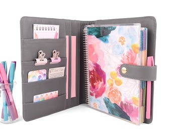ANGEL- Planner Cover for Coil Bound / Discbound Planners like Erin Condren, Plum Paper, Bloom Daily Planners & Happy Planners!