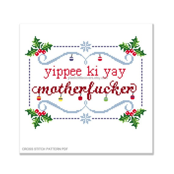 Mature Yippee Ki Yay Motherf Cker Die Hard Movie Modern Etsy Explore 9gag for the most popular memes, breaking stories, awesome gifs, and viral videos on the internet! etsy