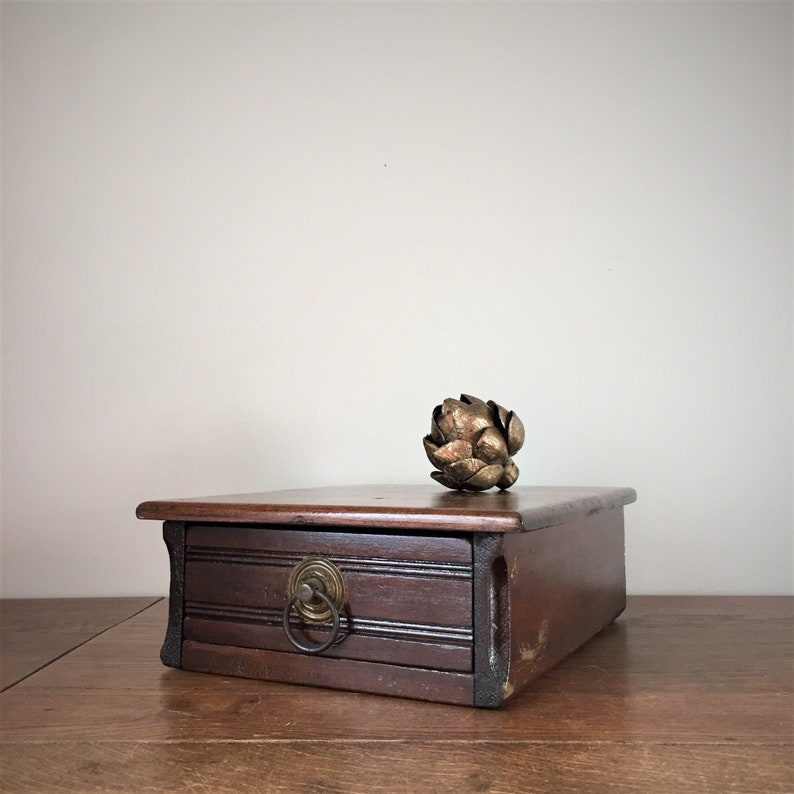 Wood Storage Drawer and Cabinet Salvaged from Late 1800s image 0