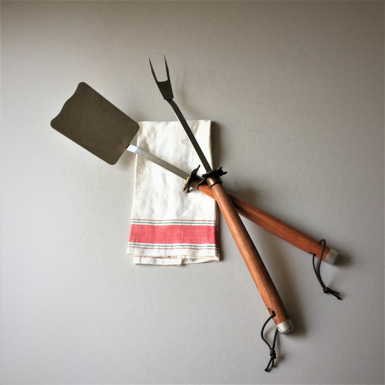 Vintage Mr Cheftender Ranger BBQ Tools as Seen in the image 0