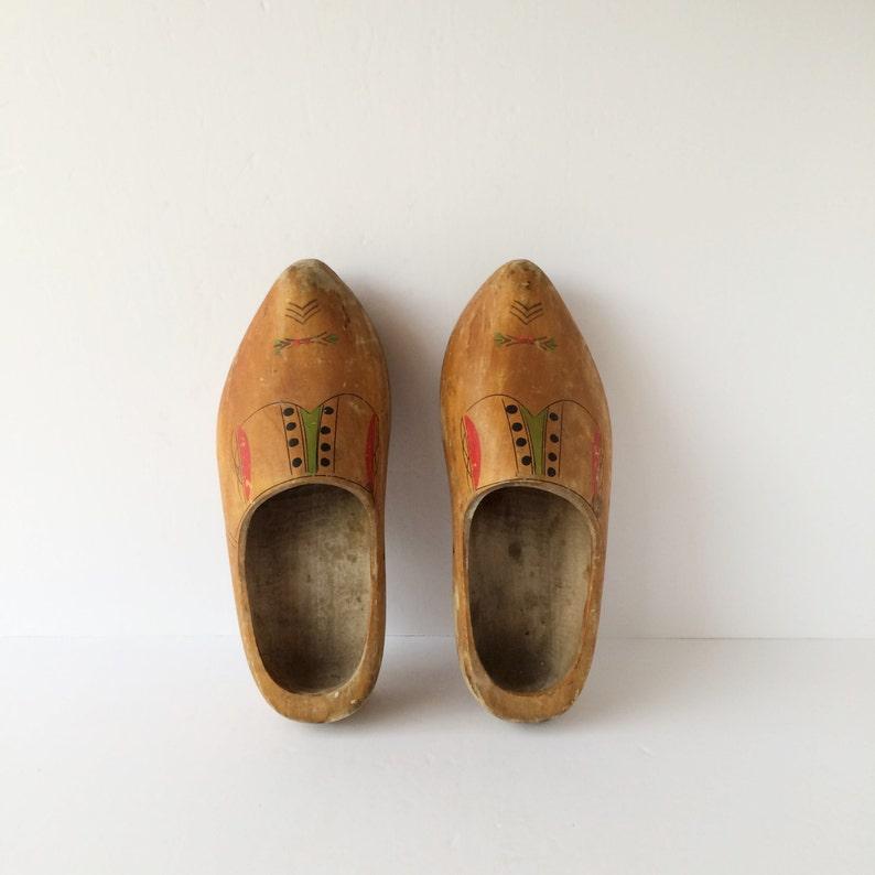 26aebe9bab Authentic Vintage Dutch Clogs Wooden Shoes Dutch Farming