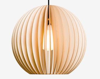 AION wood pendant light