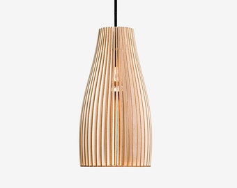 ENA wooden pendant light, wood lamp, spot light, wooden lampshade