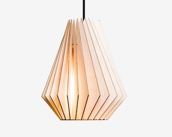 HEKTOR wood lamp,  wooden lampshade, pendant lighting, hanging light, wood design