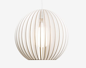 AION wood lamp, wood pendant lights, lampshade
