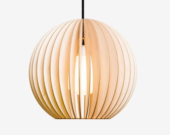 AION wood lamp birch
