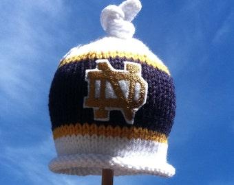 1e93720e7e0 Notre dame knit hat