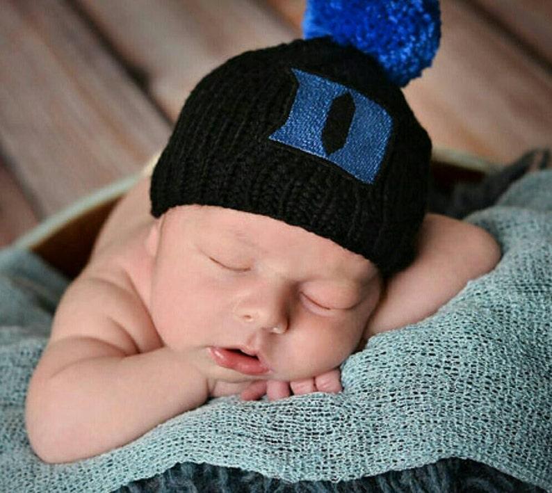 cc1a138d8c4 Duke Blue Devil Baby Duke Basketball Baby Hat Duke Blue
