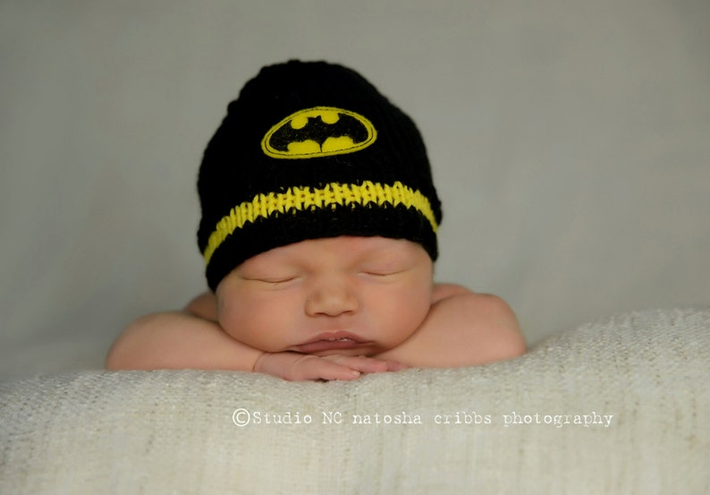 3fe527d6b Batman Baby Hat Baby Batman Halloween Hat, Baby Batman, Batman Beanie,  Superhero Hat, Batman Baby, Knit Boy Hat, Newborn Batman Hat