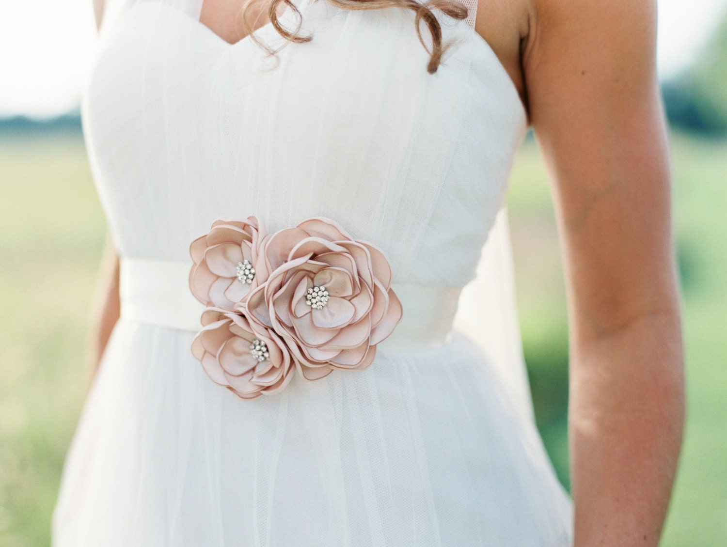 Bridal Gown Sashes