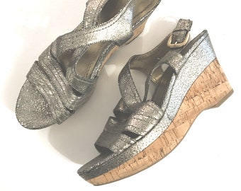Femmes Chaussures compens/ées /à Plateforme Dames Chaussures de Fitness Orthop/édie Espadrilles de Coin Blanc 41