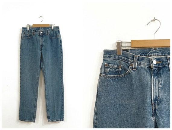 Vintage LEVIS 505 JEANS / size 34 waist