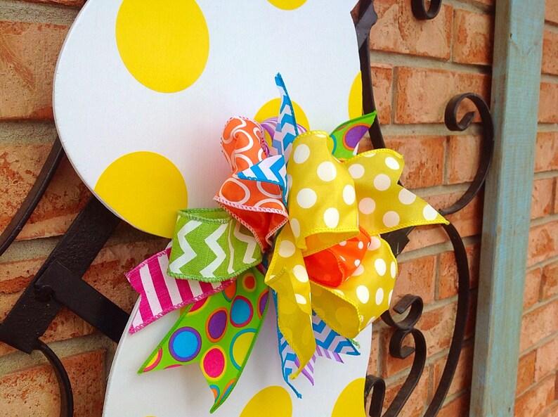Easter Bunny Door Hanger Spring Decor Front Door Decor Easter Decoration Easter Bunny Easter Decor