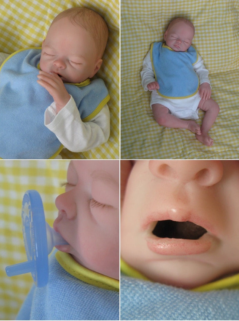 Full Body Silicone Heavy reborn open mouth baby Boy READY TO SHIP!