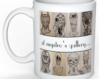 At mystro's gallery...we are always smiling! Coffee Mug