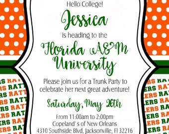 Trunk Party Invite