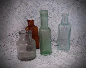 Dollhouse Miniature Replica Bottle of Cough Remedy