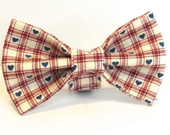 Country Love Doggy Bowtie