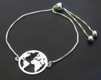 Map Bracelet Etsy