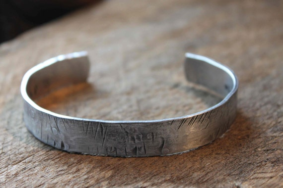 Personalized Mens Hand Stamped Cuff Bracelet, quote, dates, anniversary gift, groomsman gifts