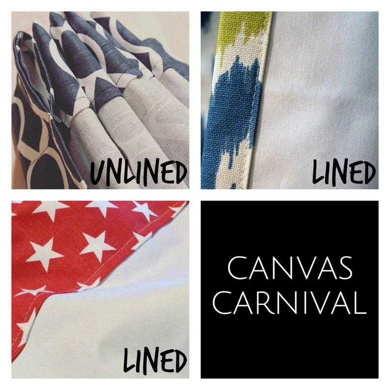 Curtains linen-appearance Pair NEW Inspire Warm Stone Canvas Slub