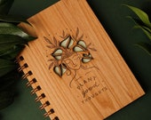 Plant Good Thoughts Laser Cut Wood Journal