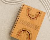 Reflection Laser Cut Wood Journal